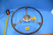 Sheller 1937 Nash Banjo Steering Wheel With Lafayette Horn Button
