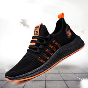 Mens Lightweight Sneakers Outdoor Casual Fashion Tennis Walking Hiking Gym Shoes