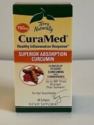 Terry Naturally Curamed Superior Absorption Curcumin 60 Softgels 750mgexp 07/23