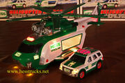 2012 Hess Helicopter And Rescue Truck 100 Mint-in-box From Case