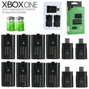8 X Rechargeable Battery Pack + 4 Usb Charging Dock For Xbox One Controller 2020