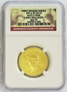 2012 W Gold 10 Alice Paul 1/2 Oz 2798 Minted Spouse Coin Ngc Ms 70 Er