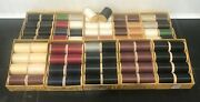 Cobblers Sewing Thread 10 Boxes 8 Spools Different Colors Vintage
