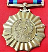 Singapore Army, Navy Or Air Force Reserve Forces Service Medal