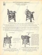 1920s Antique Hardware Ad Knoxall Washing Machines-top Notch Wash Boards