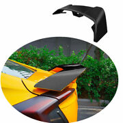 For 2016-2020 Honda Civic 10th Abs Black Rear Aircraft Boot Spoiler Wing Flap 1x