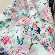 Quilt / Princess Fairytale Bed Set. Handmade Baby Blanket And Pillow