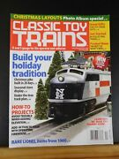Classic Toy Trains 2010 December Christmas Layout American Flyer Add Lights To F