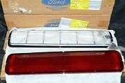 Nos 1968-70 Shelby Tail Light Bezels Lens Complete Set 1965 Thunderbird Mustang