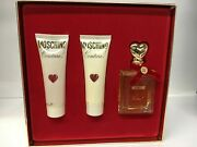 Moschino Couture Gift Set Edp 50 Ml 1.7 Oz + Lotion + Shower Gel, Discontinued