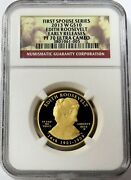 2013 W Gold 10 Spouse Edith Roosevelt 1/2 Oz 2840 Minted Ngc Proof 70 Uc Er