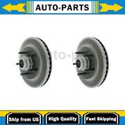 For Ford F-150 1999-2003 2x Centric Parts Front Disc Brake Rotor