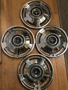 1965 Chevrolet Hub Caps 13 Set Of 4 Chevy Corvair Hubcaps 1965 Corvair  Dd8