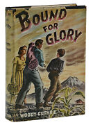 Bound For Glory Woody Guthrie First Edition 1st Printing 1943