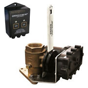 Groco Fbve-750 12v 3/4 Bronze Electric Flanged Seacock -