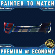 New Painted To Match - Front Bumper For 2016 2017 Ford Explorer W/ Park And Camera