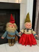 Vintage Christmas Gnomes Used In The May Company Cleveland Oh Andnbspdisplayandnbsp
