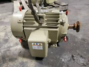 New Ge 20 Hp Electric Ac Motor 460 Vac 256t Frame 3 Phase 3540 Rpm 1 5/8 Dia