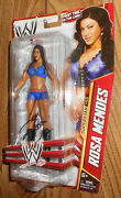 Wwe Rosa Mendes Signed Wrestling Figure Diva First Time In Line 46 Autographed