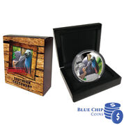 2016 1 Endangered And Extinct Southern Cassowary 1oz Silver Proof Coin Number 16