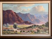Beverly Carrick Original Oil On Canvas Painting 24andrdquox36andrdquo