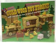 Build Wood Toy Trains Full Size Plans For 5 Great Toy Trains Sets Lewman Hc