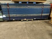 Tear Drop Pallet Rack Lot - One 42x12' Upright And Four 8' Cross Beams