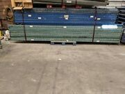 Tear Drop Pallet Rack Lot - One 42x14' Upright And Four 8' Cross Beams