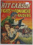 Avon Kit Carson Fights The Comanche Raiders Comic Issue Number 3, December 1951