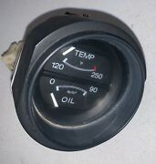 Temperature And Oil Gauge Off 1977 Datsun 280z —t2-g3- 1