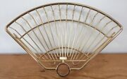 Goldtone Brass Bronze Corner Shower Caddy Replacement Basket For Tension Pole