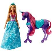 Barbie Dreamtopia Princess Doll With Unicorn Mythical Fairytale Accessories Toy