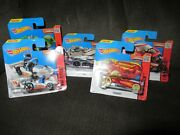 Lot Of 10 Hot Wheels Track Stars Hw Race And Hw City Singles Sealed Carded 2015
