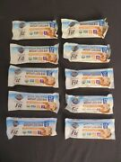 10 Garden Of Life Organic Fit High Protein Weight Loss Bars Caramel 1.94 Oz @9