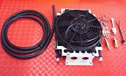 Dual Pass Transmission Oil Cooler And Thermal Fan Kit Street And Hot Rod 187.1001