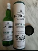 6 X Laphroaig Empty Whisky Bottle With Box And Lid- Quarter Cask - Fast Delivery