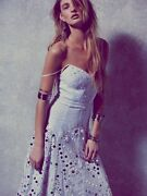 💎rare Free People Limited Edition Mirror Dress Wedding Formal Sold Out Xs S 2 4