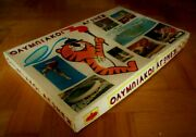 Unique Vintage Greek Board Game - Seoul Olympic Games - From 80s