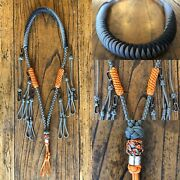 Paracord Duck Goose Waterfowl Predator Call Lanyard Removable Clip Drops