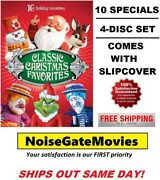 Classic Christmas Favorites Dvd, 2013, 4-disc Set - Ships Out Same Day