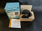 Vintage Airguide Marine Compass Model 90-g 90 G Bulkhead Lighted Boat Usa New
