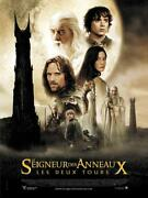 Poster Folded 15 11/16x23 5/8in The Lord Of Rings The 2 Tricks Peter Jackson New