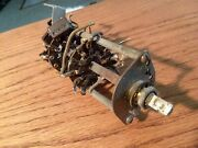 1938 Zenith Band Selector Switch From 93-369 Console Radio