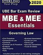 Sterling Test Prep Mbe And Mee Essentials...paperback 2020 Sterling Test Prep