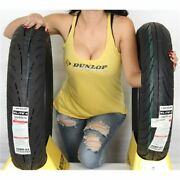 130/70 18 160/80 16 Dunlop Elite 4 Bias Front And Rear Tire Kit - 2 Tires