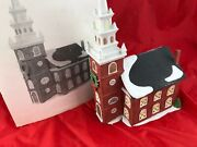 Dept 56 5932 3 Village Heritage Collection New England Old North Church Lights