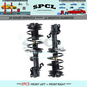 Fit For 2011-2016 Nissan Juke Fwd Front Pair Complete Strut Shock Quick Assembly