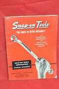Vintage 1955 Snap On Tool Catalog Snap-on Snapon 55 Red Color Antique Tools Rare