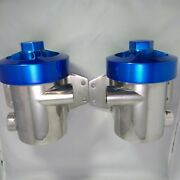 Sea Strainers With Blue Tops