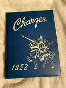 1952 Bell Gardens California Yearbook Charger